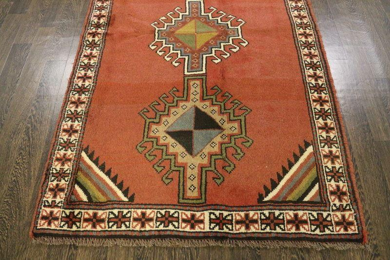 Traditional Vintage Handmade Rug 115x190cm - The Rugs Outlet