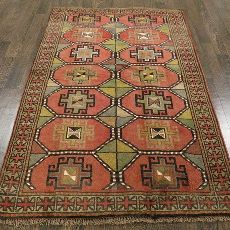 Traditional Vintage Handmade Rug 120x195cm - The Rugs Outlet