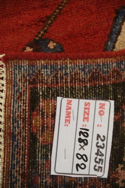 Traditional Vintage Handmade Rug 128x82cm - The Rugs Outlet