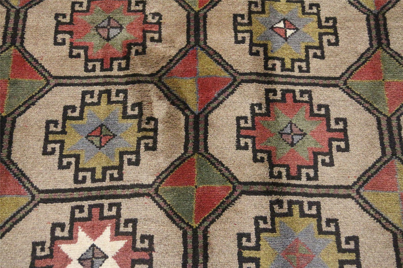 Traditional Vintage Handmade Rug 132x194cm - The Rugs Outlet