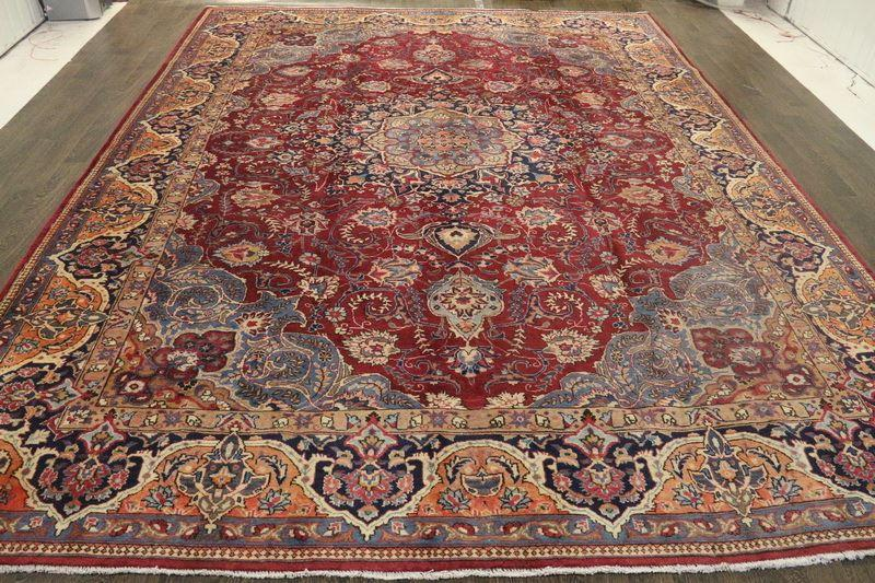 Traditional Vintage Handmade Rug 203x300cm - The Rugs Outlet