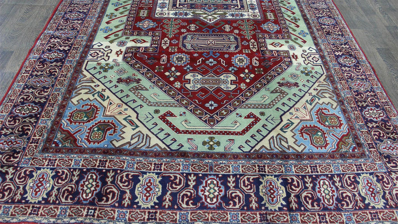 Traditional Vintage Handmade Rug 220x350cm - The Rugs Outlet