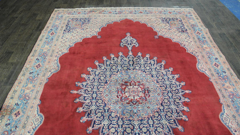 Traditional Vintage Handmade Rug 228x348cm - The Rugs Outlet