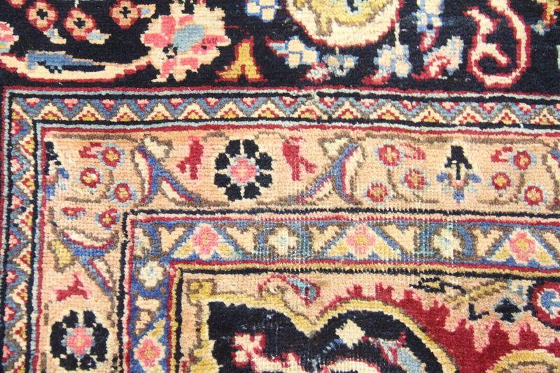 Traditional Vintage Handmade Rug 290x385cm - The Rugs Outlet