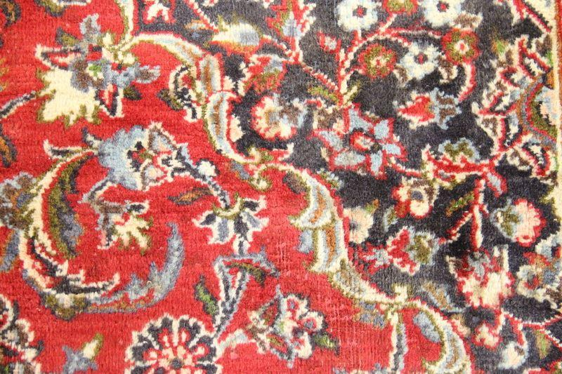 Traditional Vintage Handmade Rug 292x386cm - The Rugs Outlet