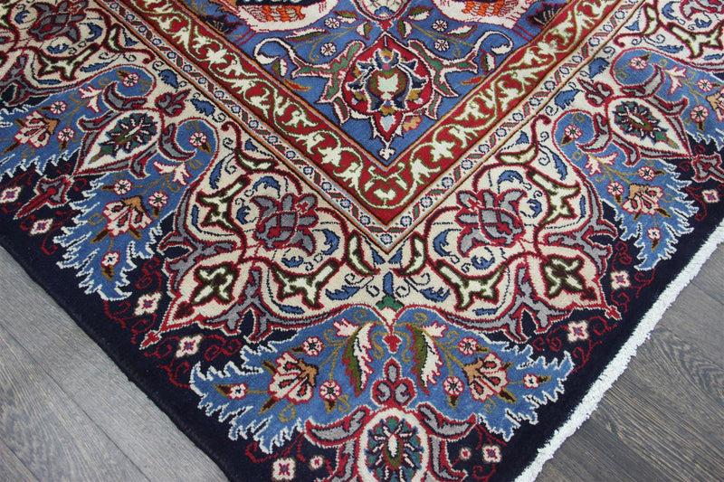 Traditional Vintage Handmade Rug 296x387cm - The Rugs Outlet