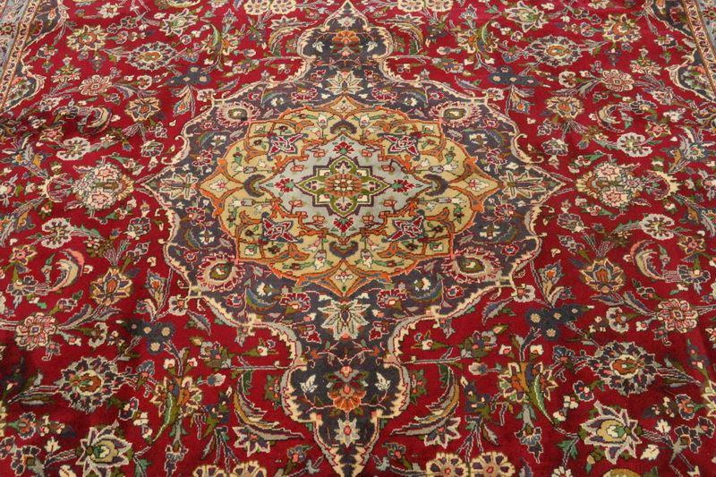 Traditional Vintage Handmade Rug 300x400cm - The Rugs Outlet