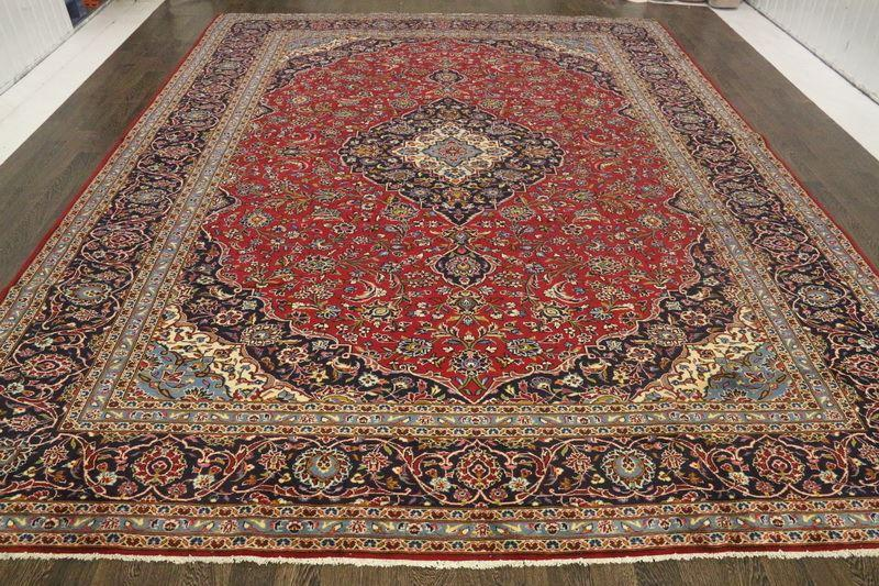 Traditional Vintage Handmade Rug 307x402cm - The Rugs Outlet
