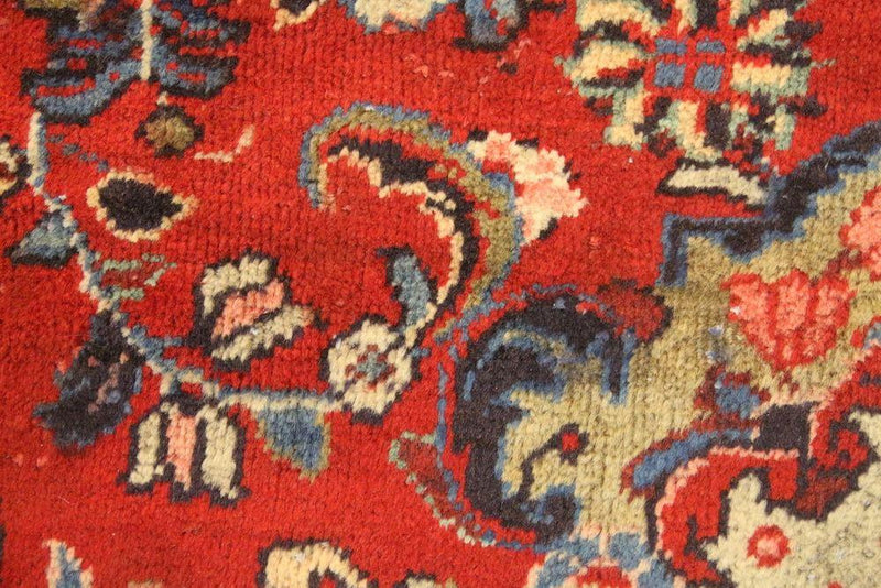 Traditional Vintage Handmade Rug 310x414cm - The Rugs Outlet