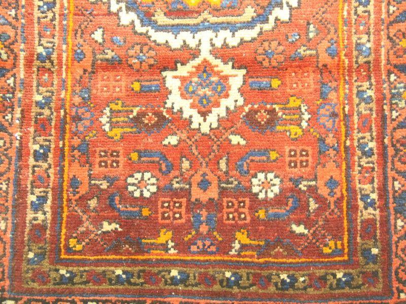 Traditional Vintage Handmade Rug 66x122cm - The Rugs Outlet