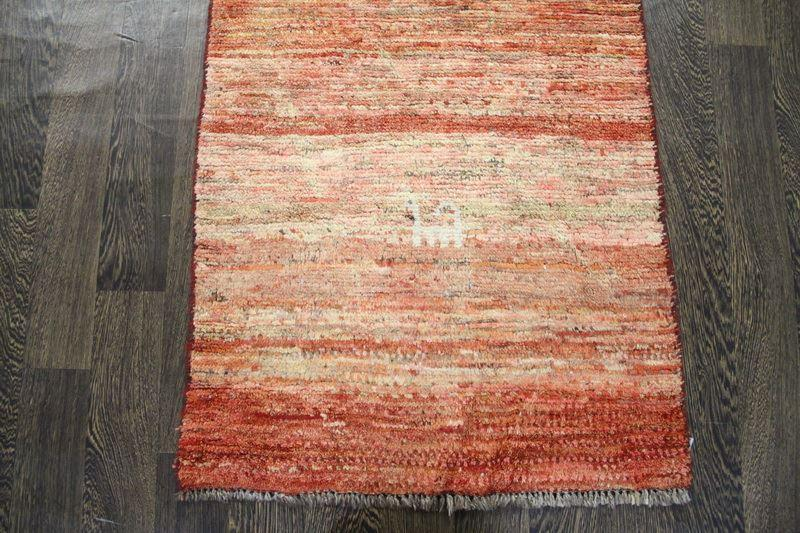 Traditional Vintage Handmade Rug 68x112cm - The Rugs Outlet