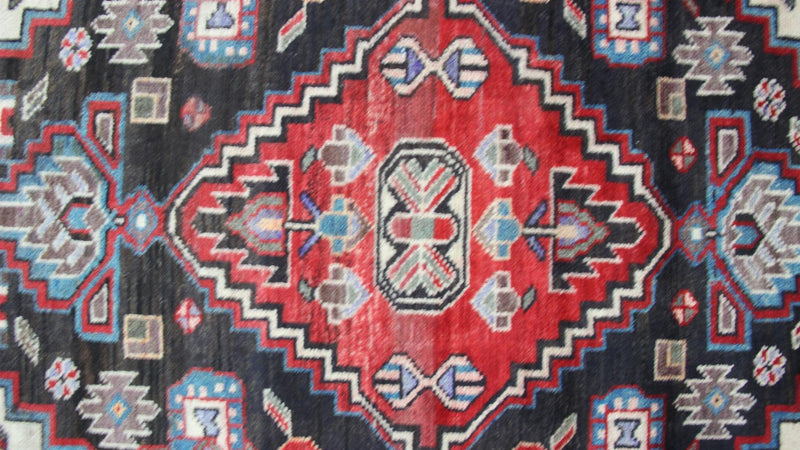 Traditional Vintage Handmade Rug 85x125cm - The Rugs Outlet