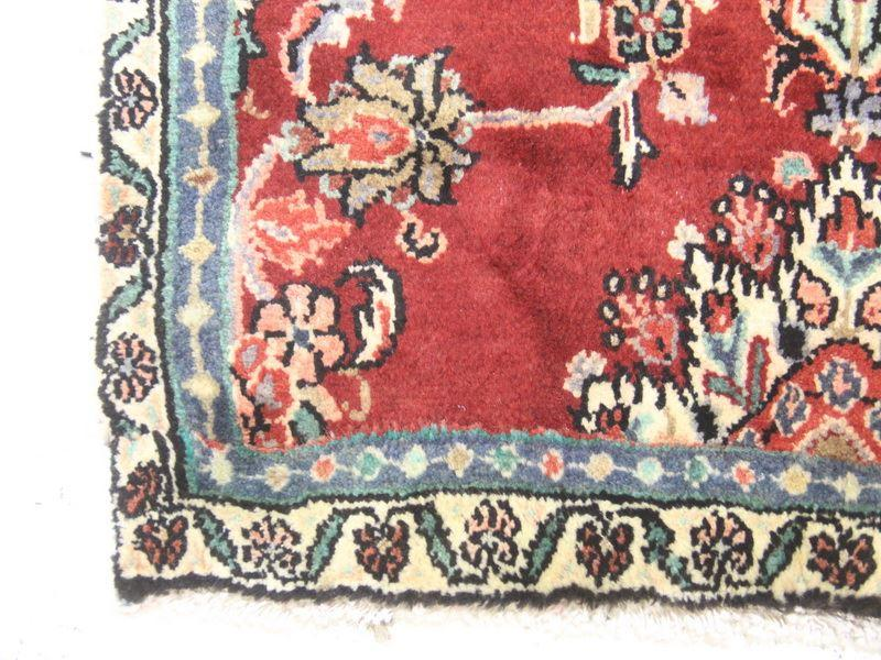 Traditional Vintage Handmade Rug 88x140cm - The Rugs Outlet