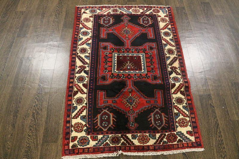 Traditional Vintage Handmade Rug 95x140cm - The Rugs Outlet
