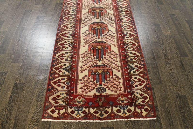 Traditional Vintage Handmade Rug 95x285cm - The Rugs Outlet