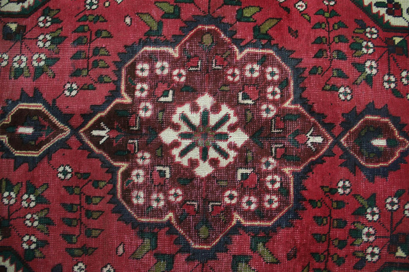 Traditional Vintage Handmade Rug 96x145cm - The Rugs Outlet