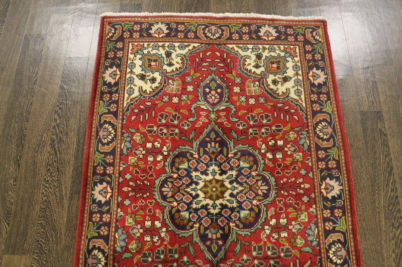 Traditional Vintage Handmade Rug 96x146cm - The Rugs Outlet