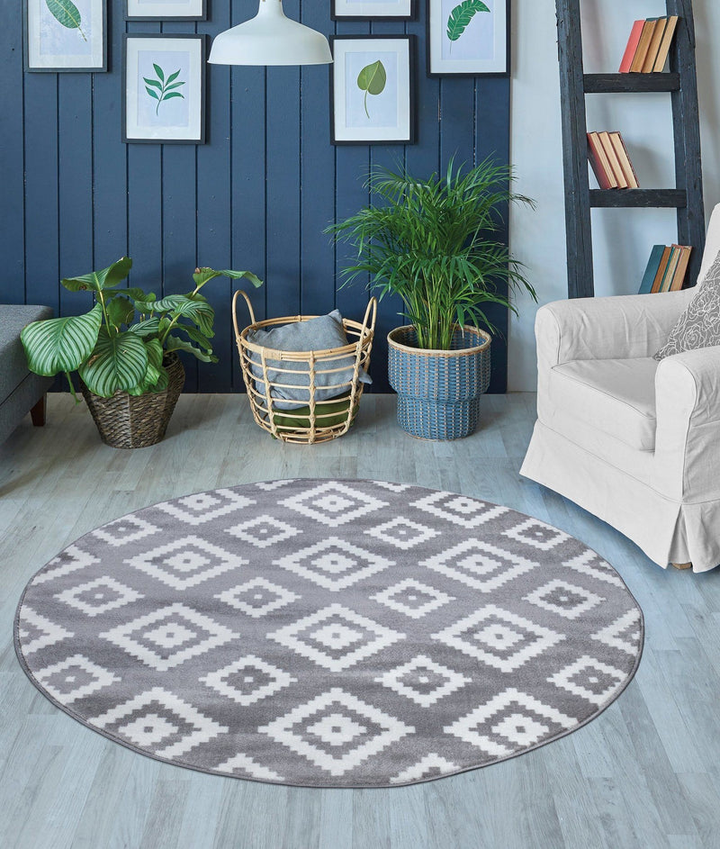 Trendy 7984 Grey Rugs - The Rugs Outlet