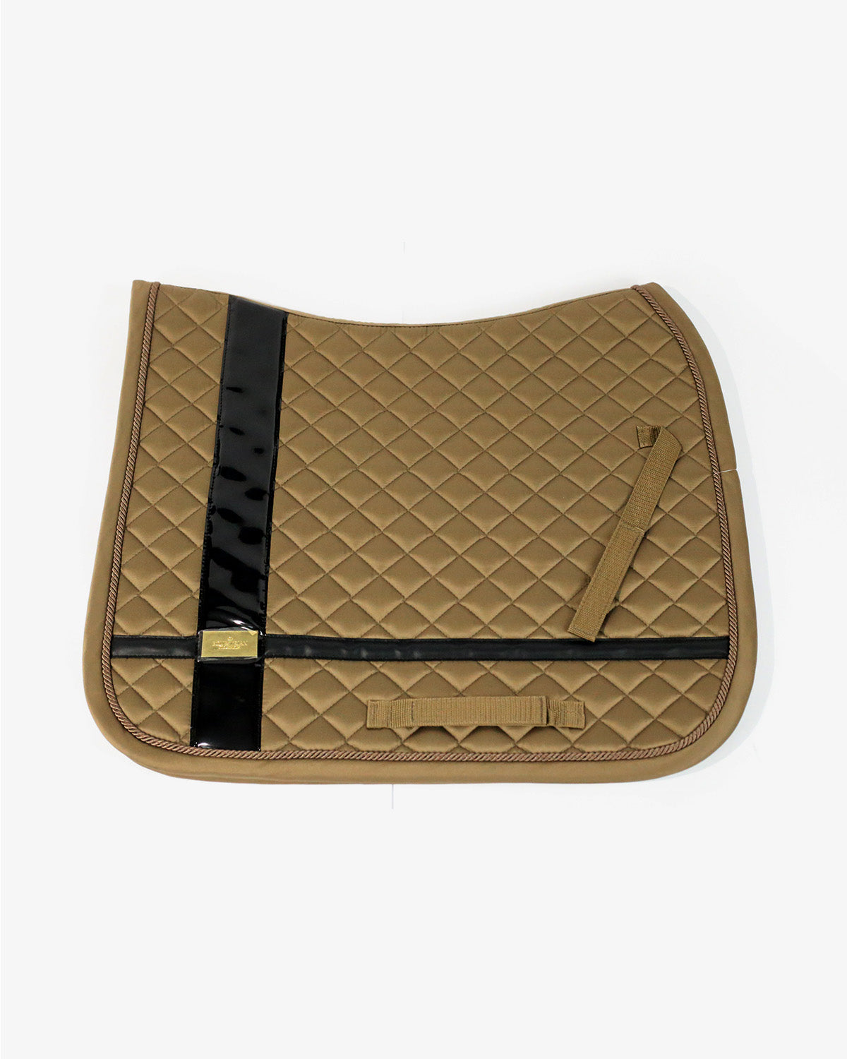 Jump Saddle Pad Leather Deluxe