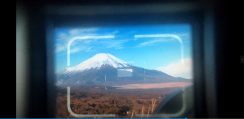 viewfinder image of the Leica M3