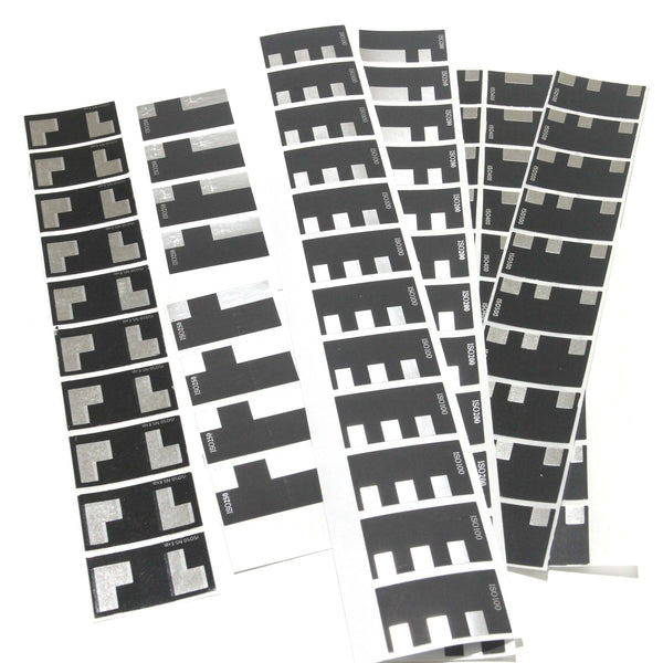 ISO 50/100/200/250/400/500 DX Code Labels/Stickers - 10pcs