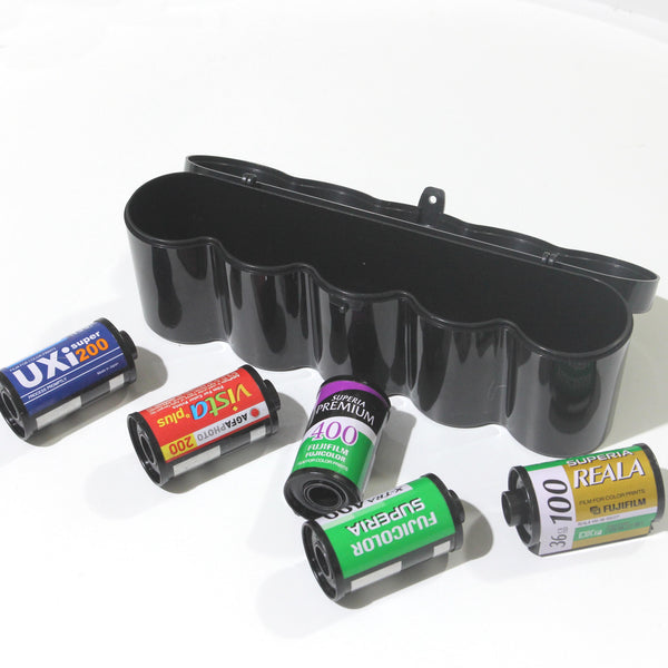 Plastic Box for 35mm Film (5 rolls per box)