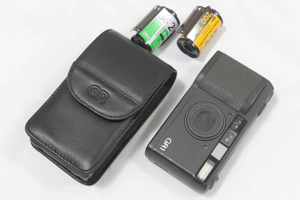 Leather Case for RICOH GR Film and Digital Cameras