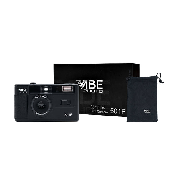 Vibe 501F 35mm Film Plastic Point and Shoot Camera