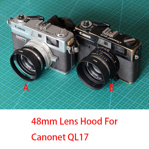 48mm Lens Hood For Canon Canonet QL17