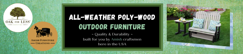 Amish Outdoor Polywood Furniture-800x180px