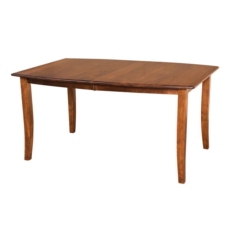 Amish made Hatfield Table in Solid Brown Maple - Oak For Less® Furniture