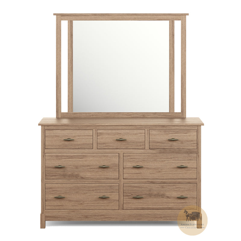 Platte River Dresser and Mirror | Amish Furniture Creations ™