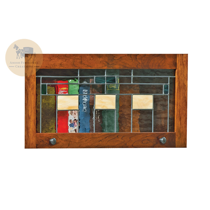 Leaded Glass LGAC for Artesa Barrister Bookcase | Amish Furniture Creations ™