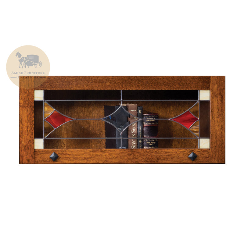 Leaded Glass LGCB for Colbran Barrister Bookcase | Amish Furniture Creations ™