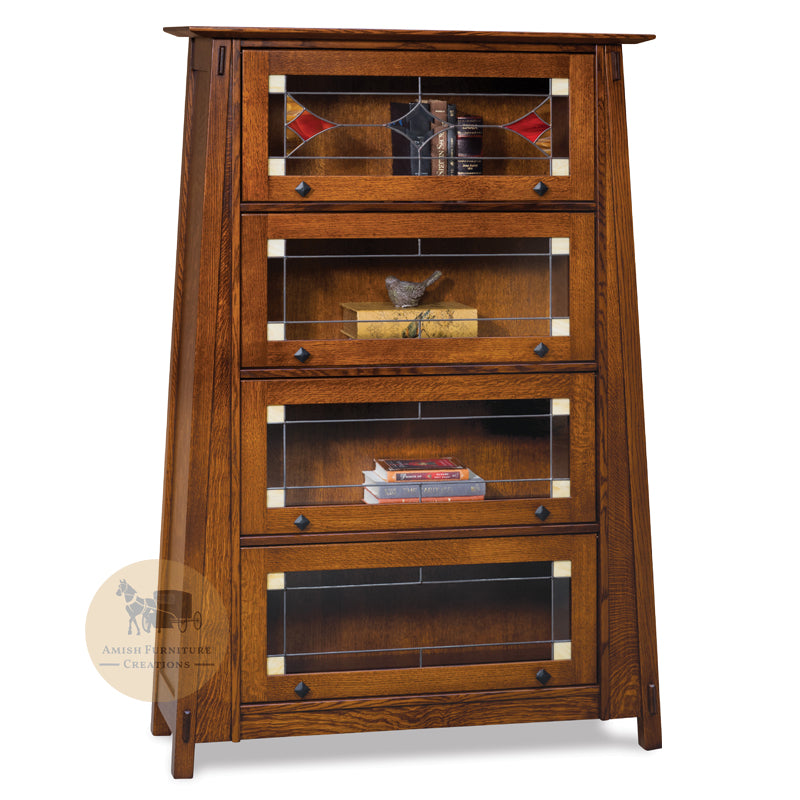 Colbran Barrister Bookcase with 4 doors | Amish Furniture Creations ™