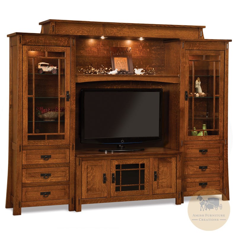 Modesto 6 Piece Wall Unit | Amish Furniture Creations ™