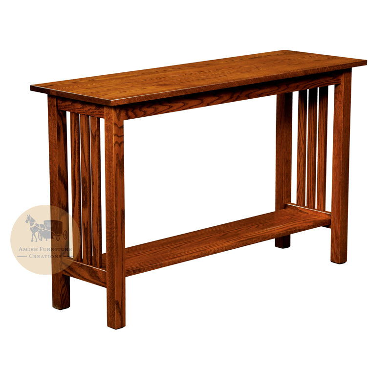 Country Mission Sofa Table | Amish Furniture Creations ™