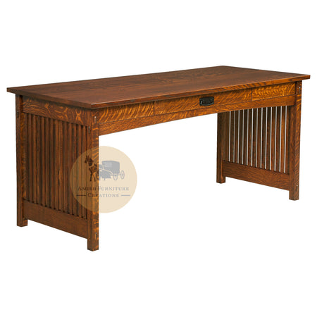 Amish made Mission Work Desk | Amish Furniture Creations ™