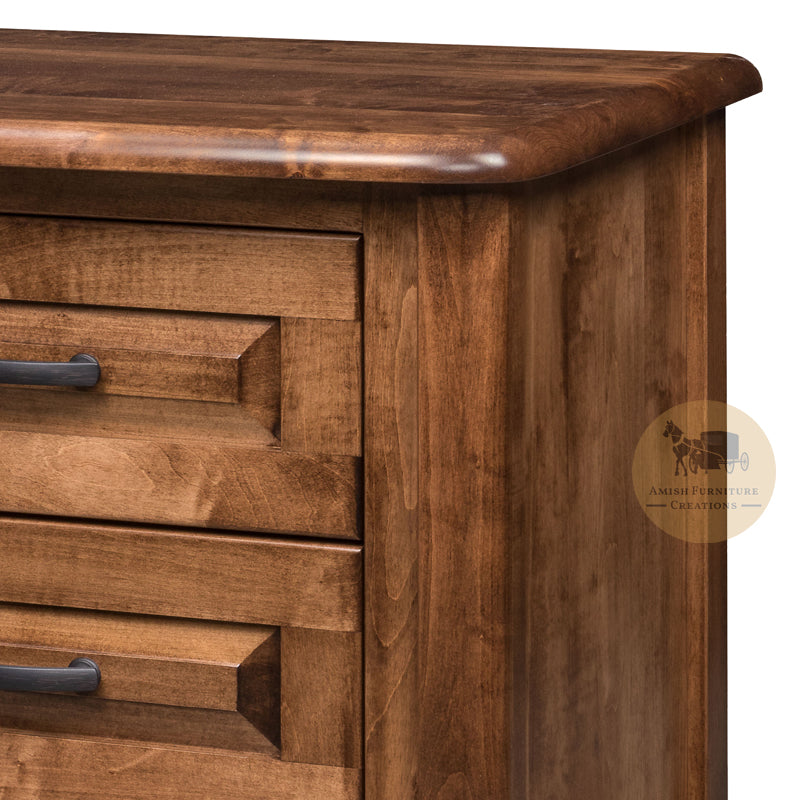 Bay Pointe 3 Drawer Nightstand detail | Amish Furniture Creations ™