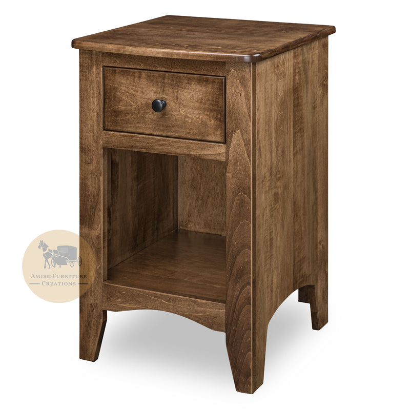 Carlston 1 Drawer Nightstand | Amish Furniture Creations ™