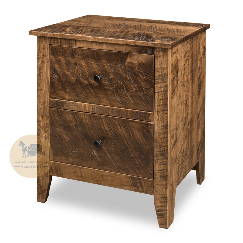 Livingston 2 Drawer Nightstand | Amish Furniture Creations ™