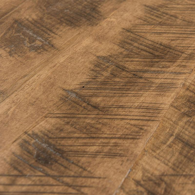 Rough Sawn Rustic Brown Maple finish detail | Amish Furniture Creations ™