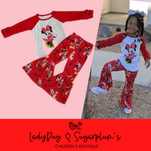 Load image into Gallery viewer, Minnie Mouse Bell Outfit