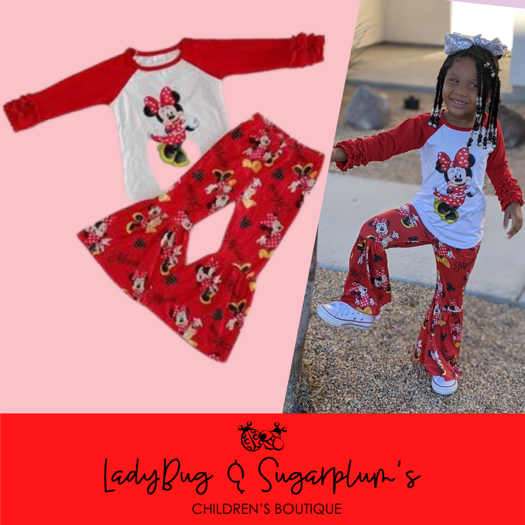 Minnie Mouse Bell Outfit
