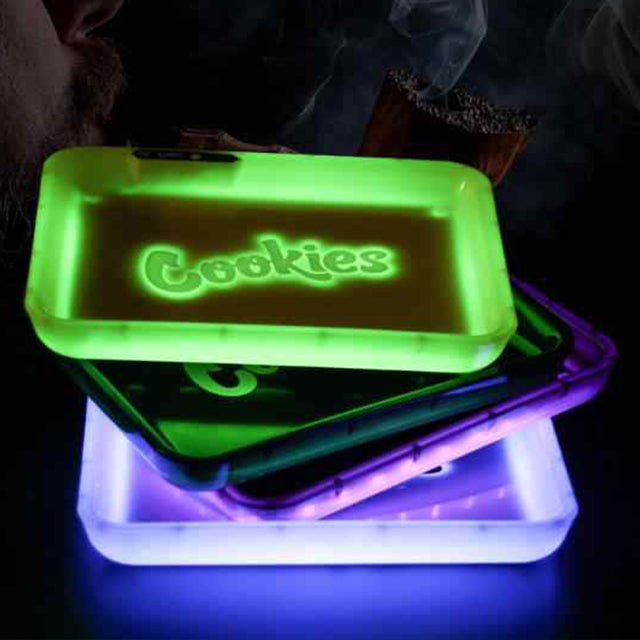 GlowTray x Cookies Rolling Tray