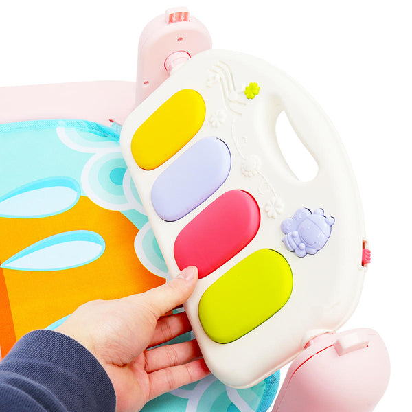 5 In 1 Baby Infant Gym Activity Floor Play Mat Piano Musical Educational Baby Playing Mat