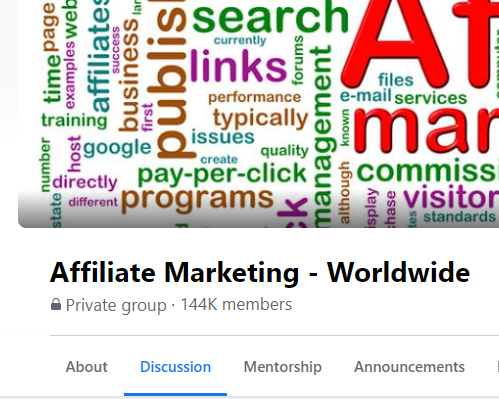 GROUP: Affiliate Marketing - Worldwide (5k leads)