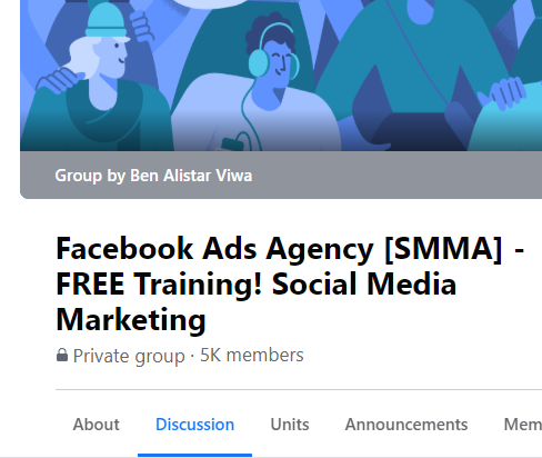 GROUP: Facebook Ads Agency [SMMA] (3.2k leads)