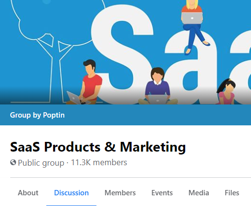 GROUP: SaaS Products & Marketing (4.1k leads)