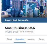 GROUP: Small Business USA (2.3k leads)